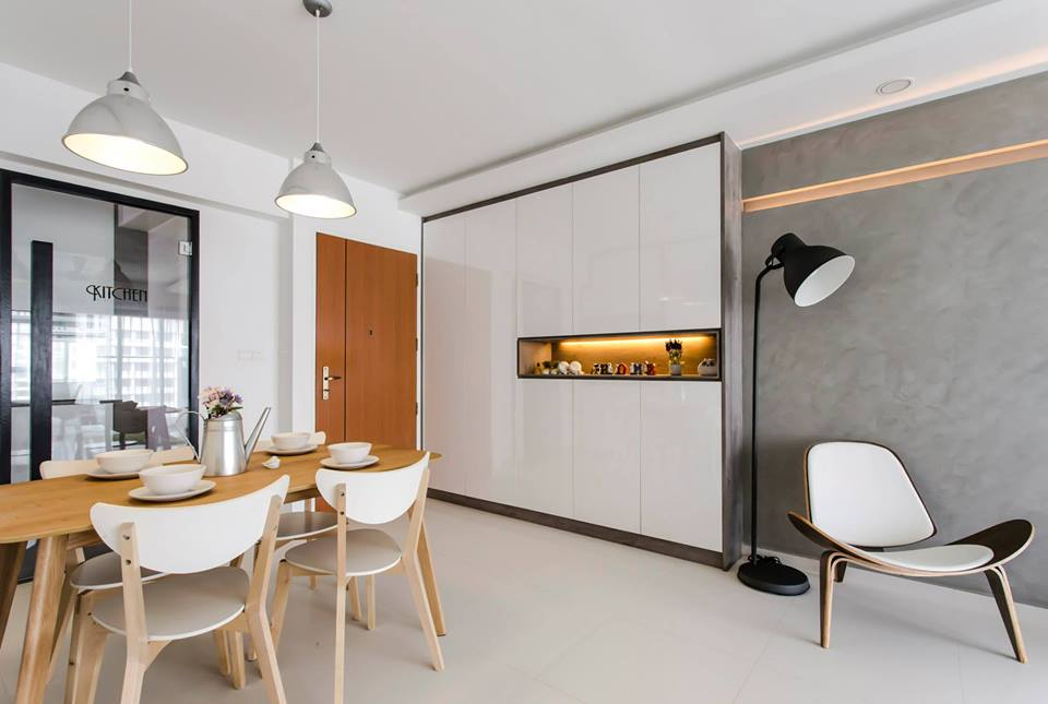 Chic Minimalism In A Hdb Apartment By Icon Interior Design