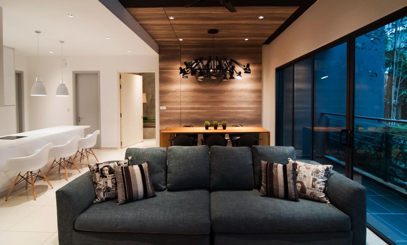 Modern Malaysian Condominium Interior Design