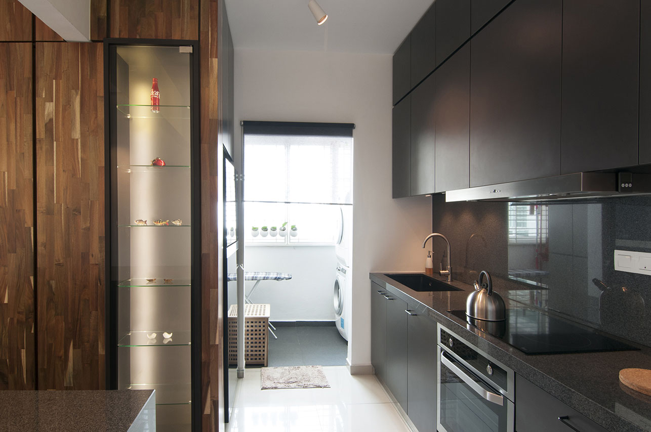 Matte Black Kitchen Cabinets Habitat My
