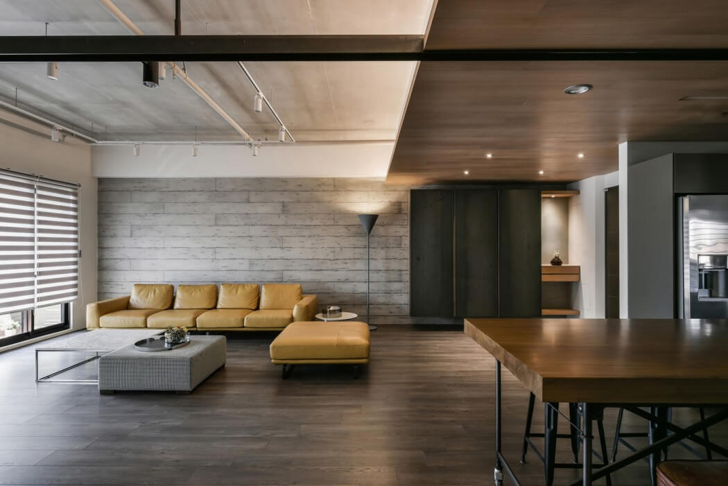 Taiwanese Apartment By Aya Living Uses A Beautiful Mix Of