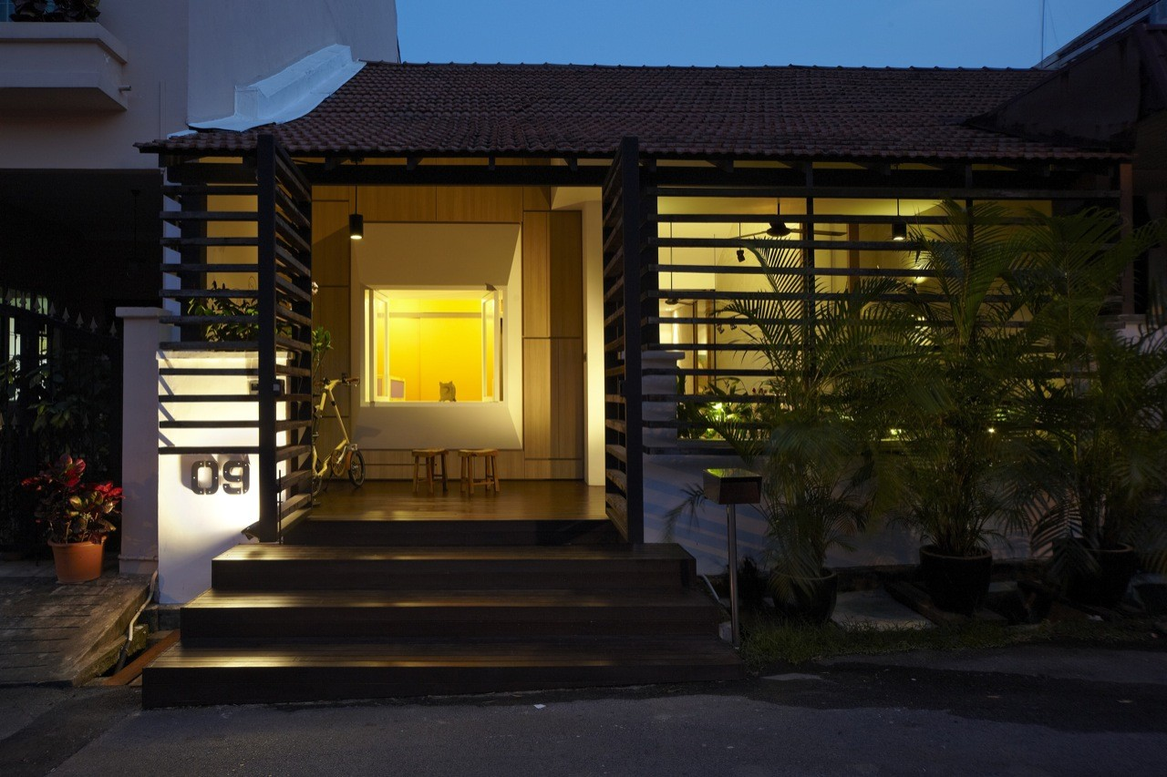 To A Single Storey Terrace House In TTDI By DRTAN LM Architect ...