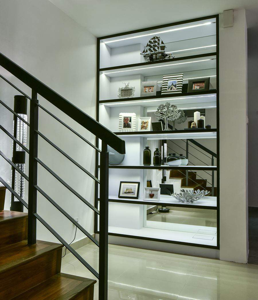 Contemporary Twist For A Bandar Kinrara Terrace House By