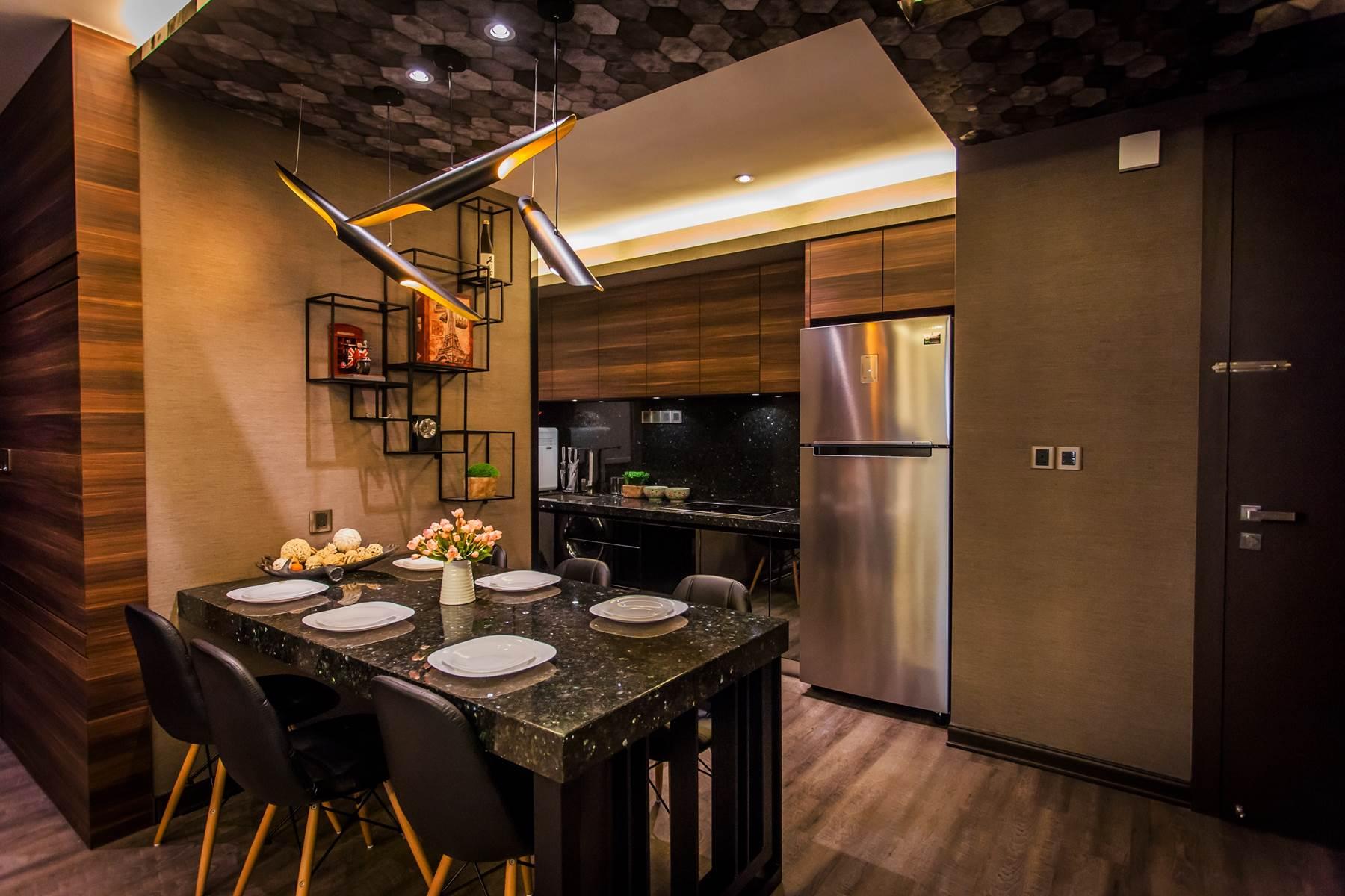 Dreamy 900 sq/ft condominium interior by Zeng Interior ...