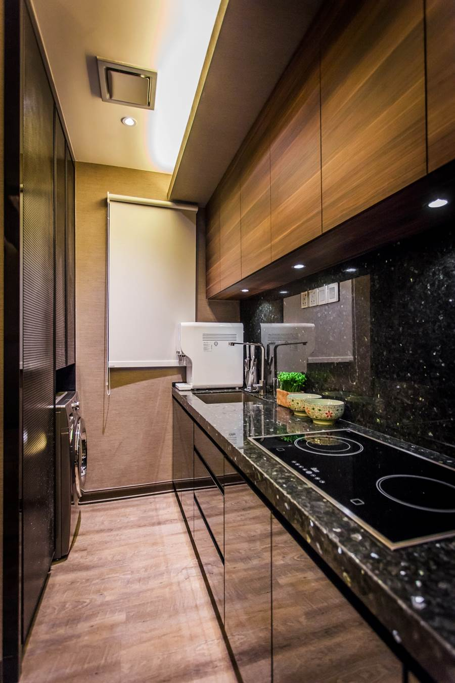 ... Simple yet stylish condominium kitchen design by Zeng Interior Design Space. & Dreamy 900 sq/ft condominium interior by Zeng Interior Design Space
