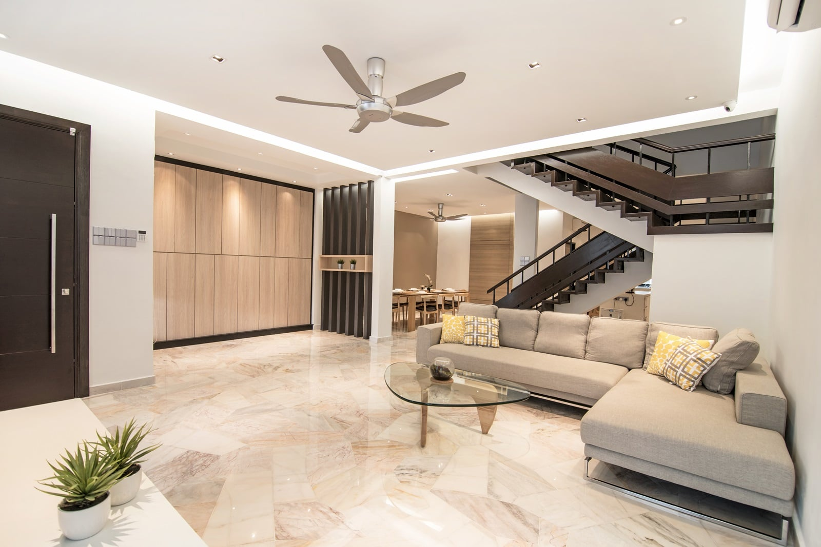 interior design double storey house malaysia with 709 30 Year Old Ttdi Terrace House Receives A Nu Infinity Makeover on Semi D House Plan as well 2 Storey Corner House Design moreover 5360 together with Custom Home Design as well Tropical House Plans Philippines.