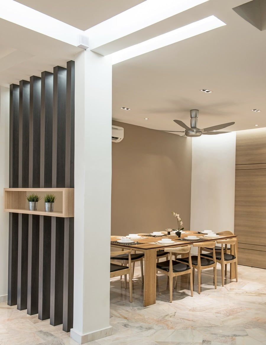 30 Year Old Ttdi Terrace House Receives A Nu Infinity Makeover