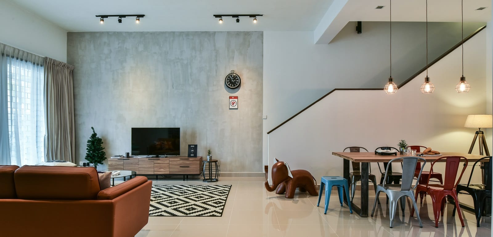 Creating An Ambiance Of Playful Sophistication For An Alam Impian Terrace House