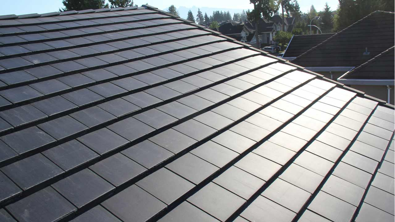 Tesla reveals new solar roof tiles and updated product for New roofing products