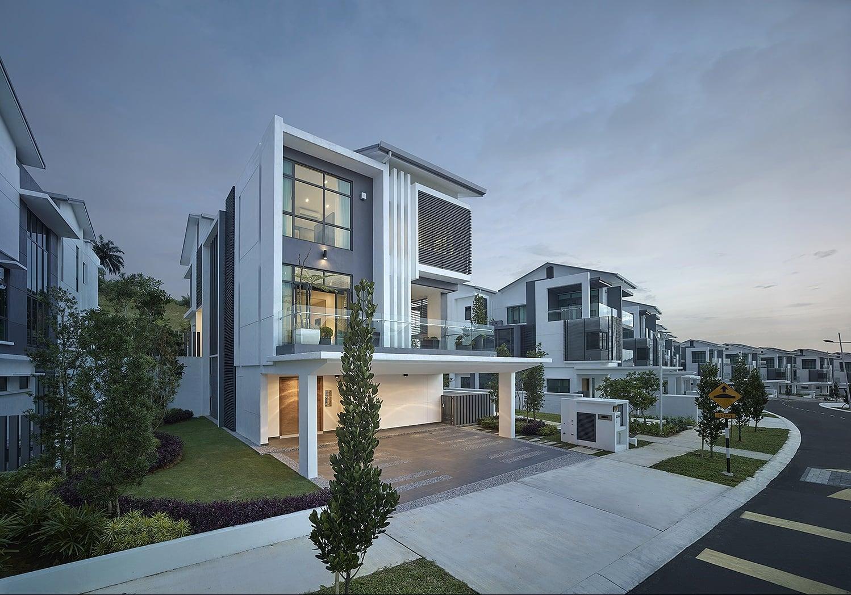 Sejati Residences Astonia II bungalow exterior design