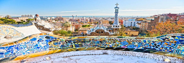 Park Guell , Barcelona  HalalTrip