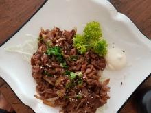 Beef Shougayaki