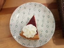 Lingonberry Cheese Cake