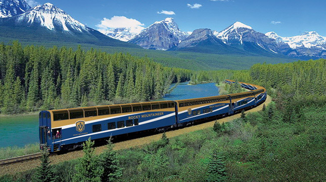 Rocky Mountaineer Vacations Canada