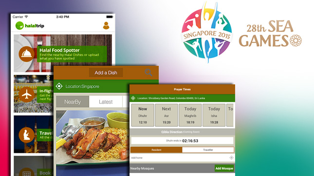 The HalalTrip Mobile App: The Must-Have Travel Companion of Every Muslim at the South East Asian Games 2015