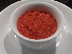 Healthy Homemade Chilli Sauce