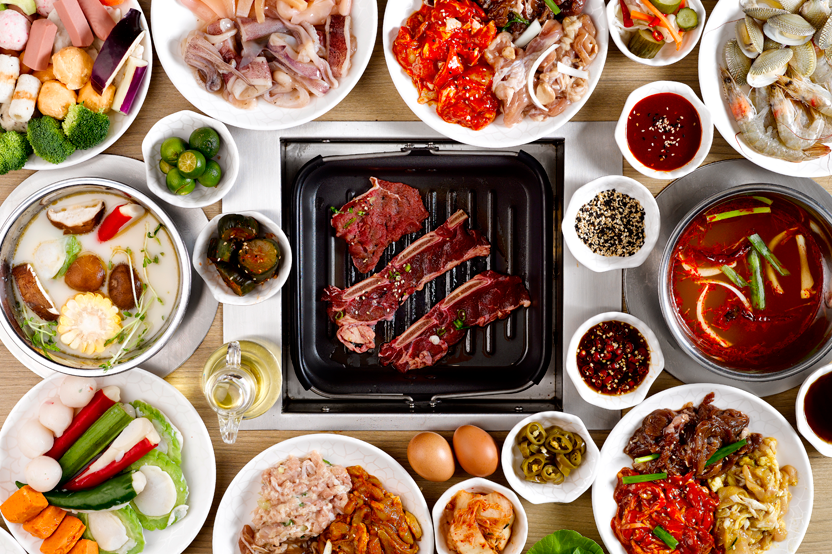 The best halal steamboat buffet restaurants in singapore for Seoul garden korean restaurant