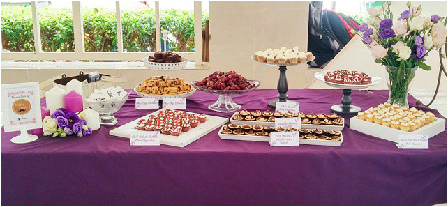 by buttertrade dessert table