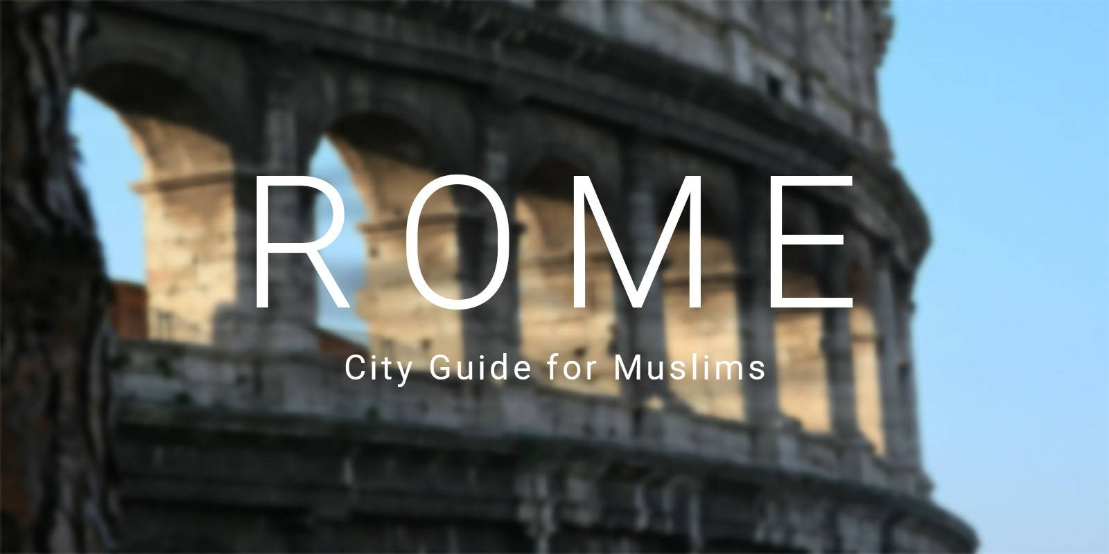 "rome city muslim personals Muslims in italy: 'give us back our mosques or we muslims in rome have threatened ""they wanted to go and pray 'allahu akbar' throughout the city."