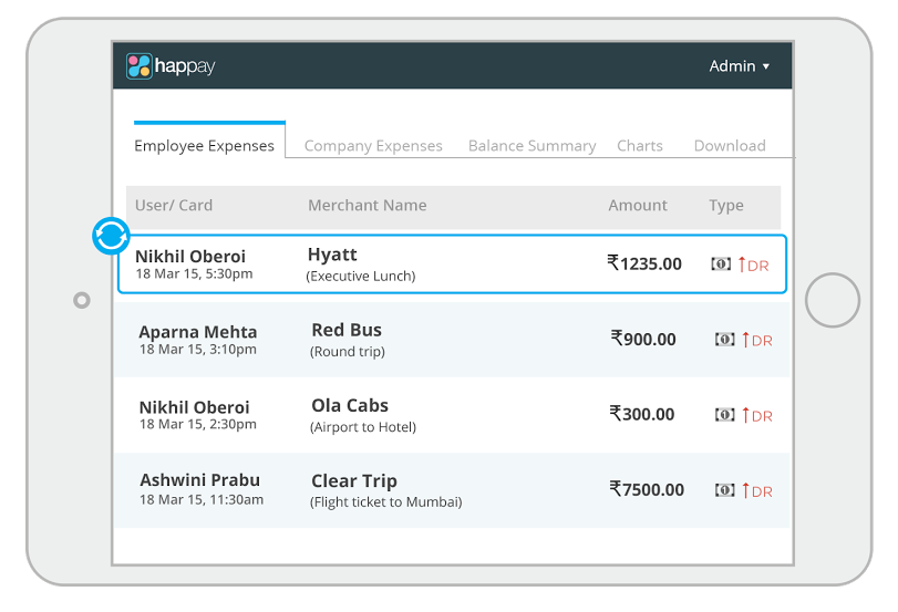 travel and expense management software happay