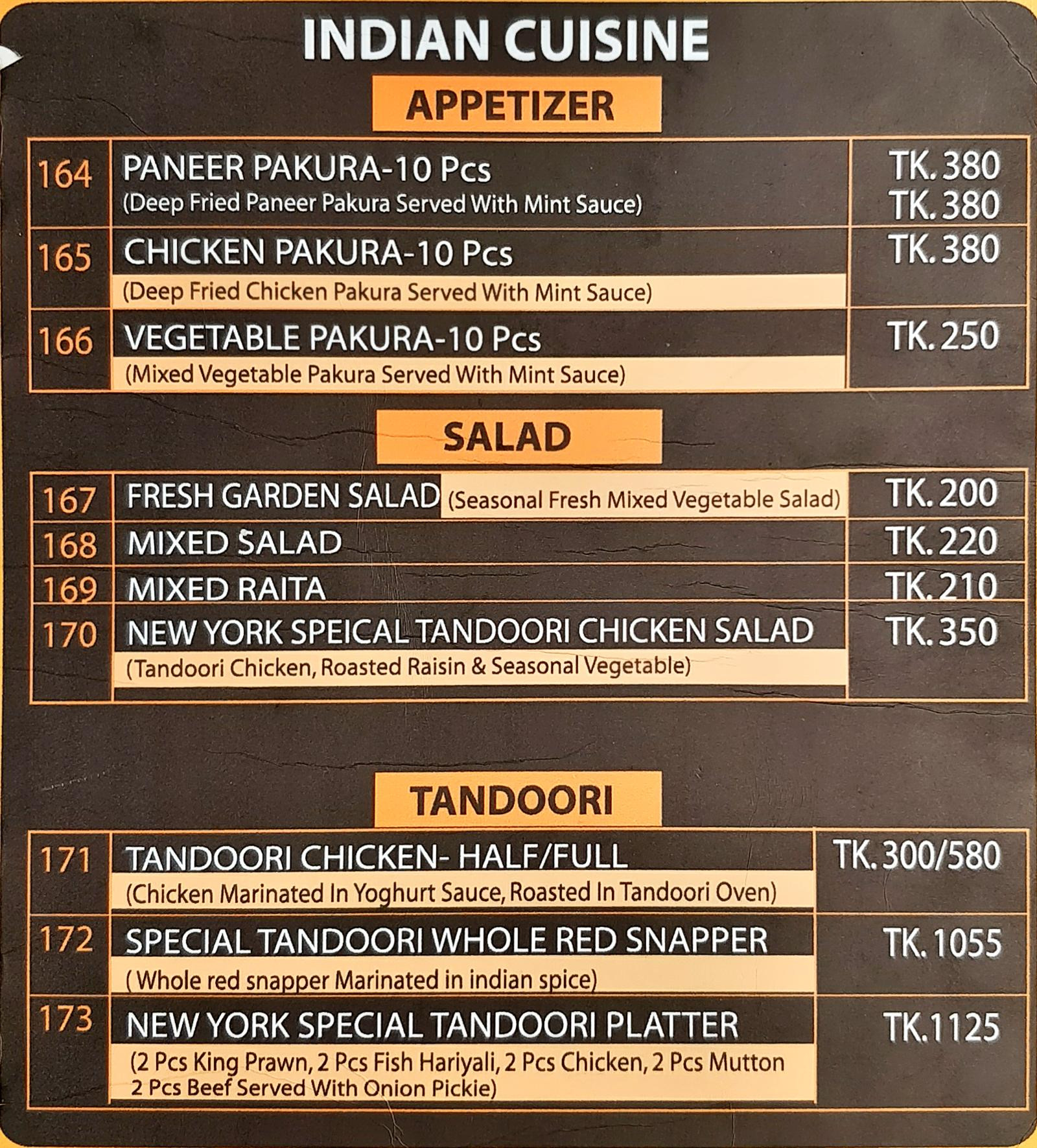 The New York Restaurant & Cafe in Mirpur DOHS, Dhaka | Harriken