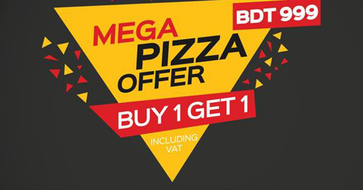 Mega Pizza Offer
