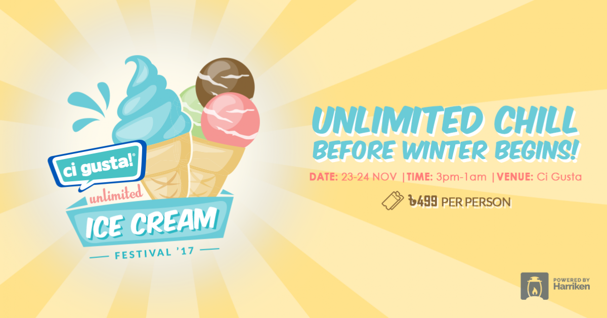 Ci Gusta Unlimited Ice Cream Festival '17
