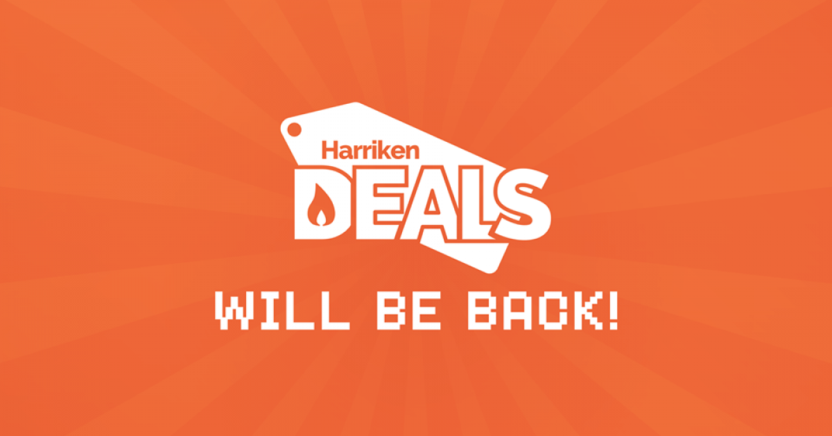 HarrikenDeals will be back