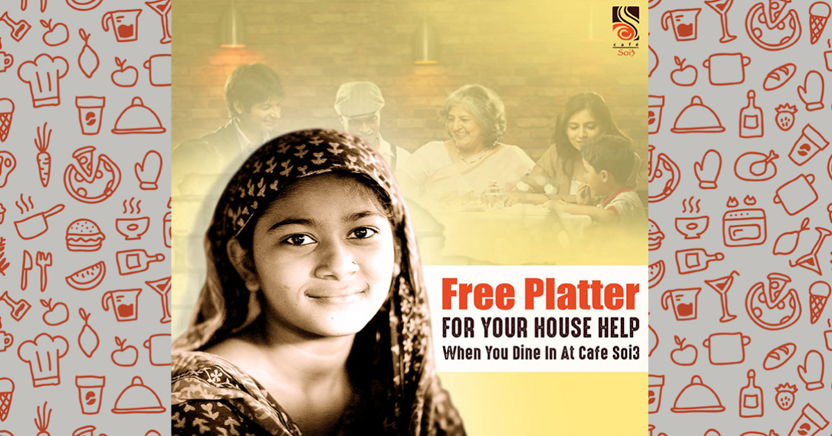 FREE PLATTER FOR YOUR HOUSE HELP