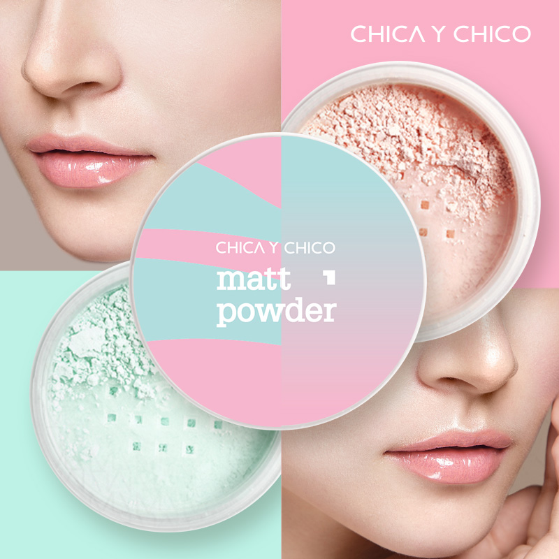 Matt Mint Powder