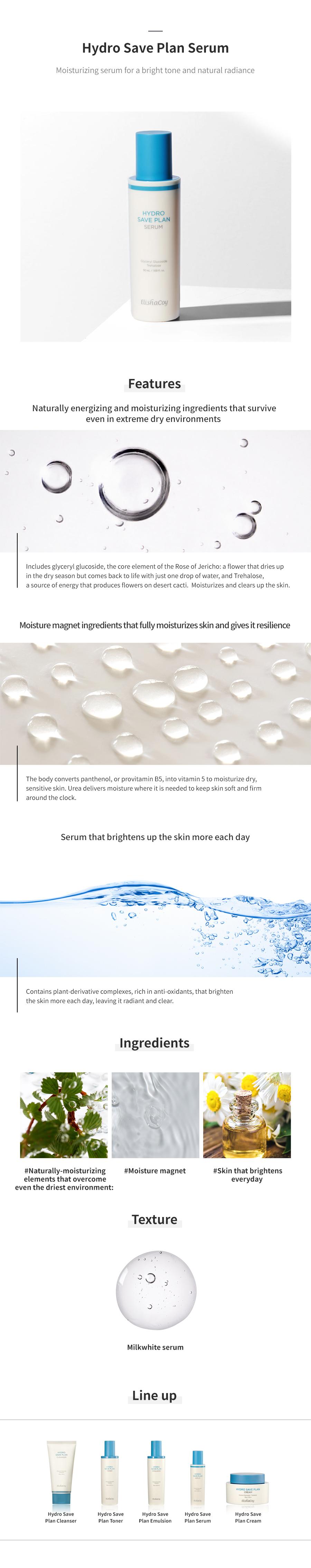 Hydro Save Plan Serum 50ml