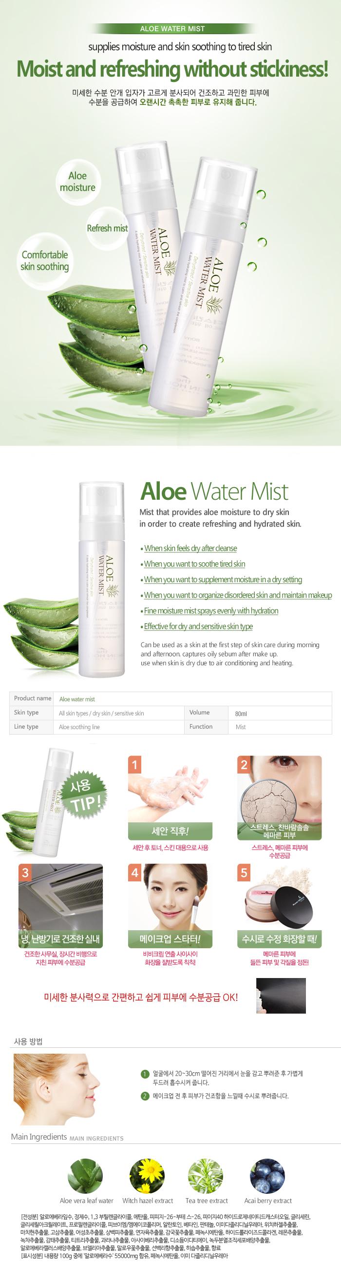 Aloe Water Mist