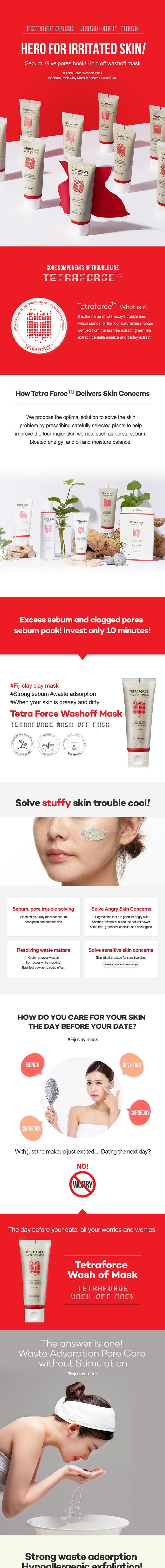Tetraforce Wash-Off Mask 100g