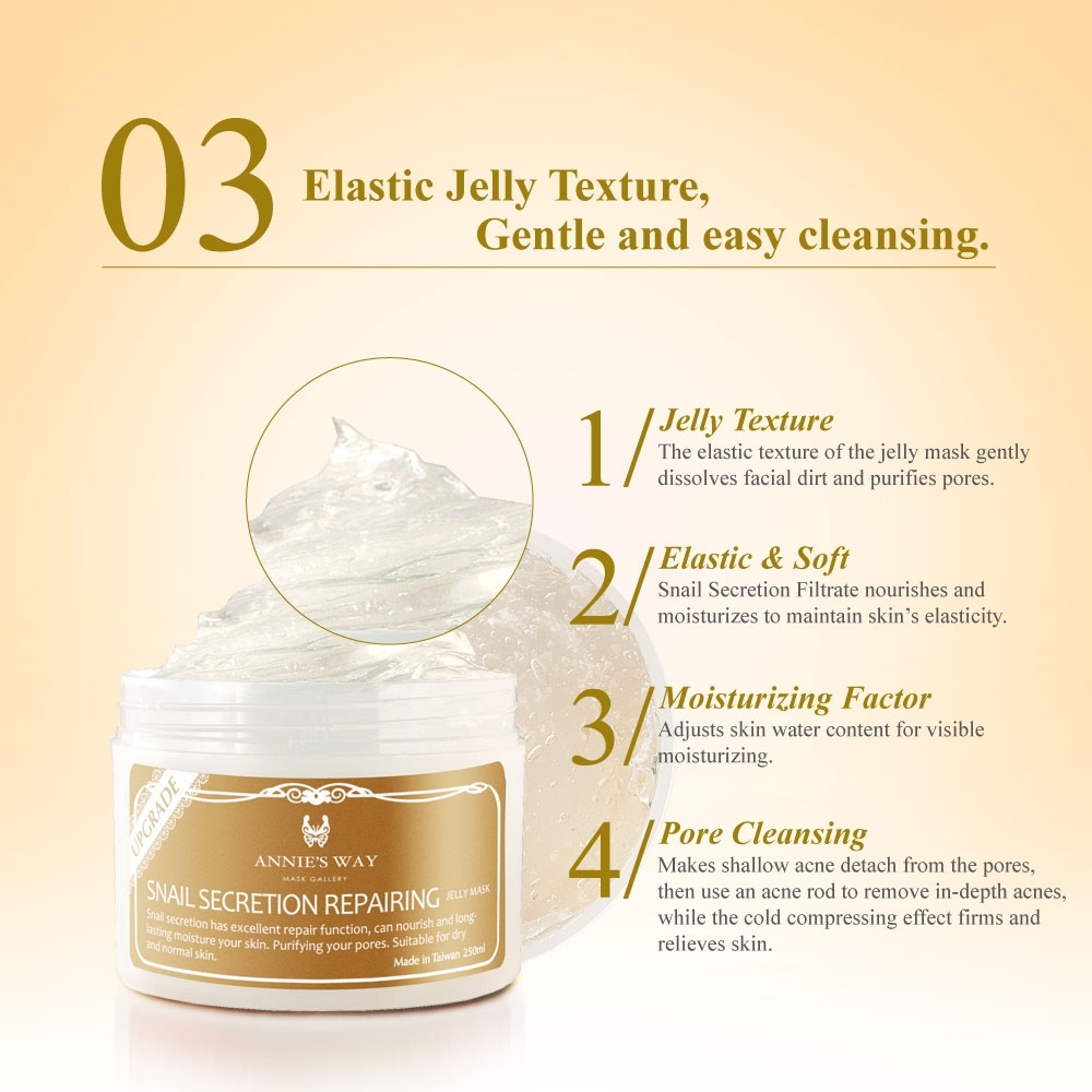 Travel Pack Jelly Mask Snail 40ml