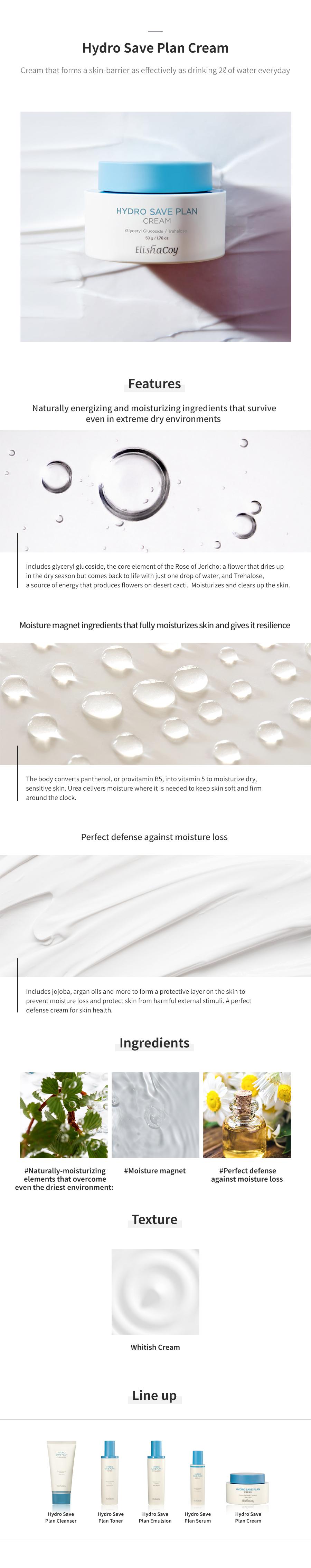 Hydro Save Plan Cream 50g
