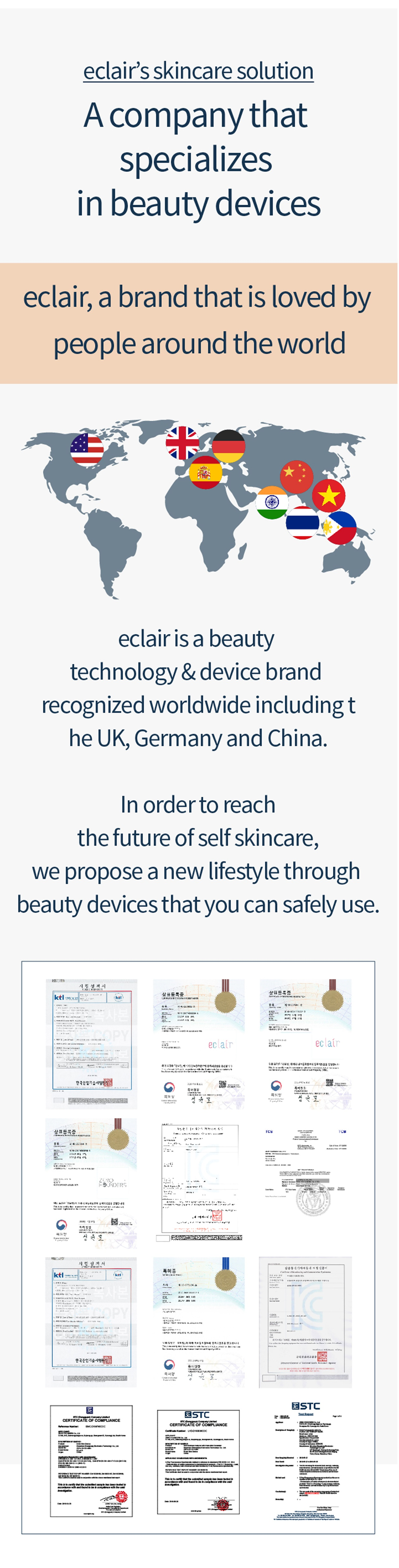 Eclair LED Face Mask