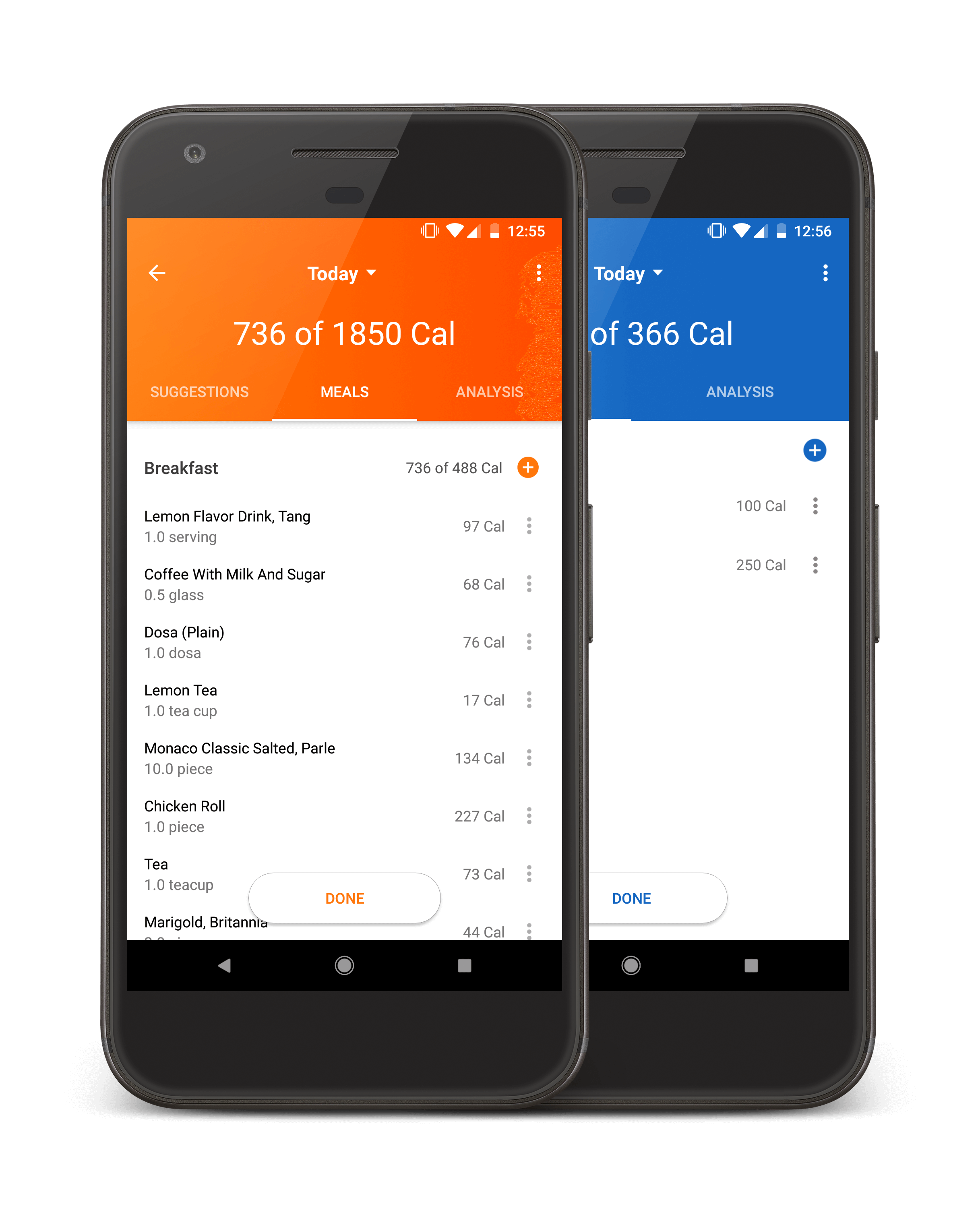 HealthifyMe Tracking
