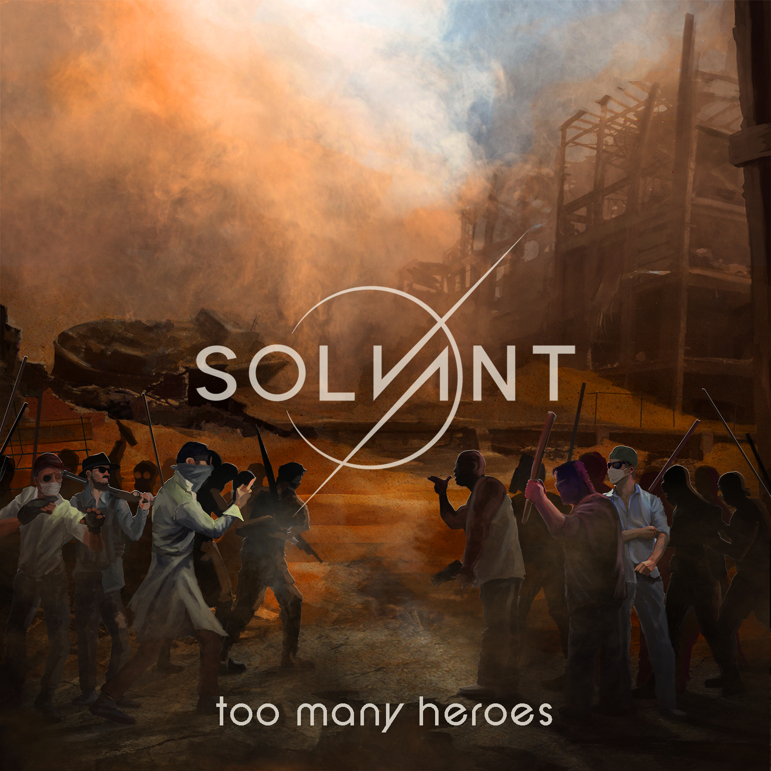 Solvant tmh album art