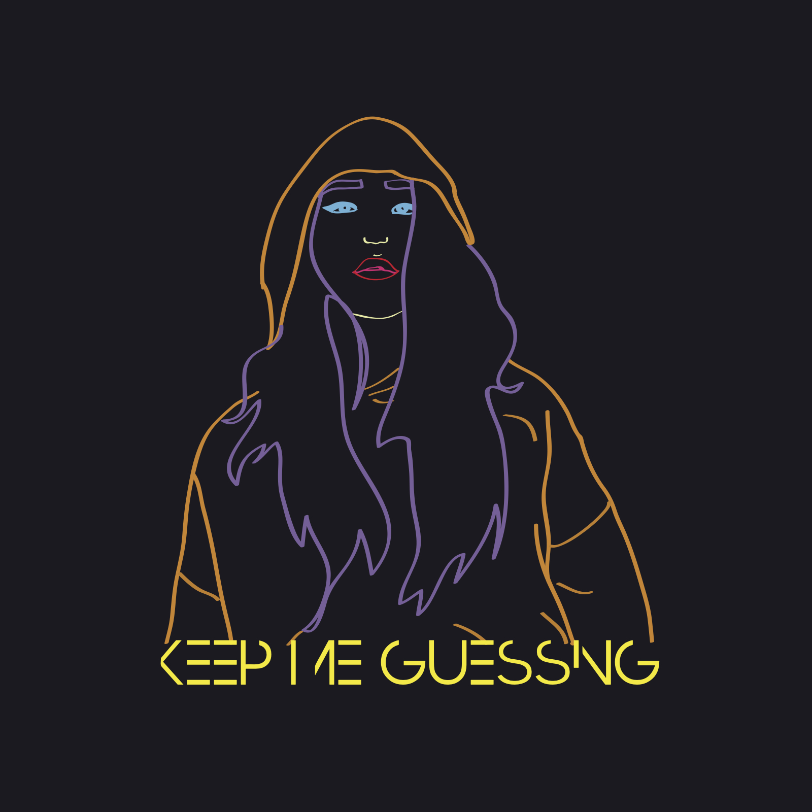 Elsa mickayla   keep me guessing album art