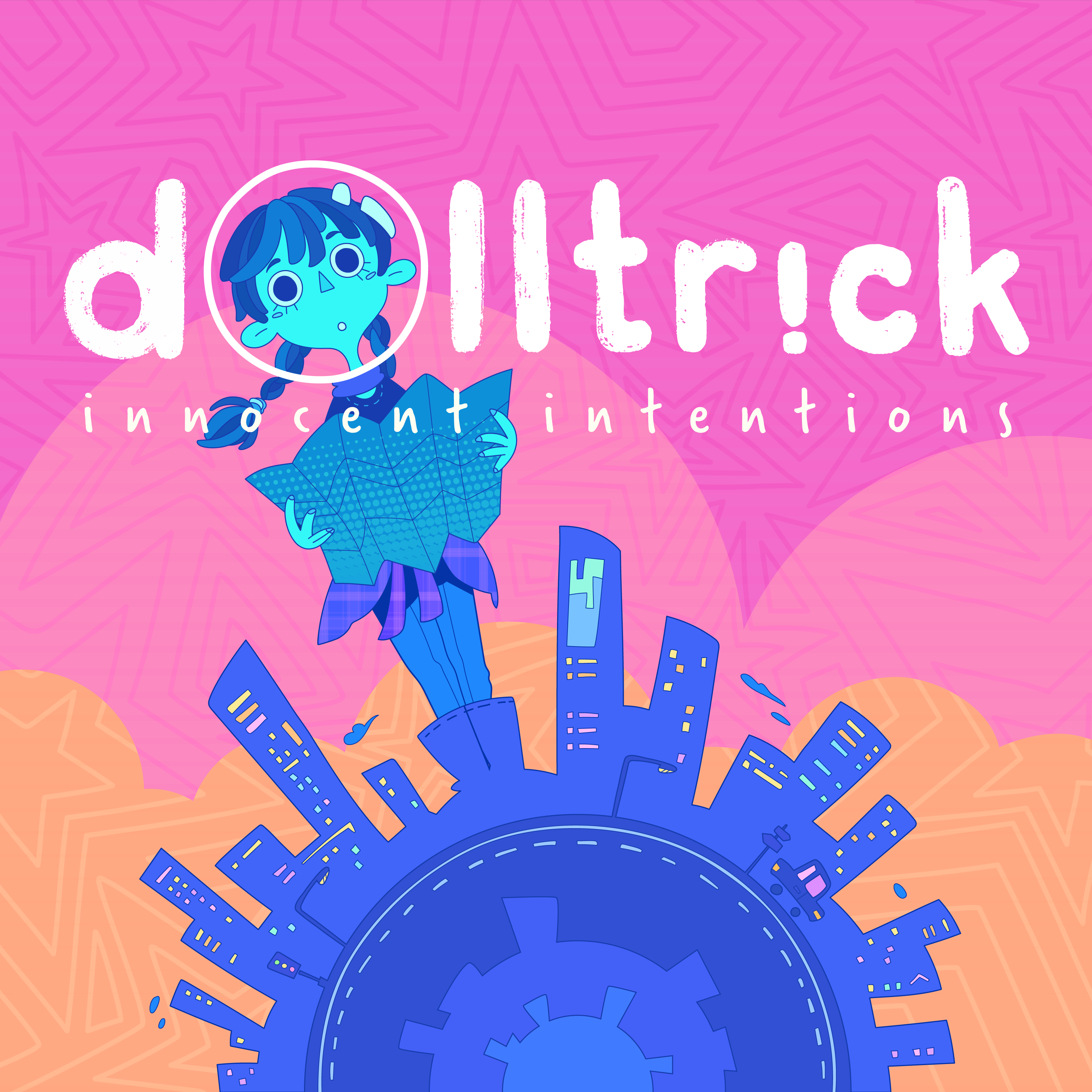 Dolltr!ck   innocent intentions ep a front cover