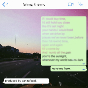Fahmy  the mc