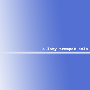 Lonely solo trumpet album art 2