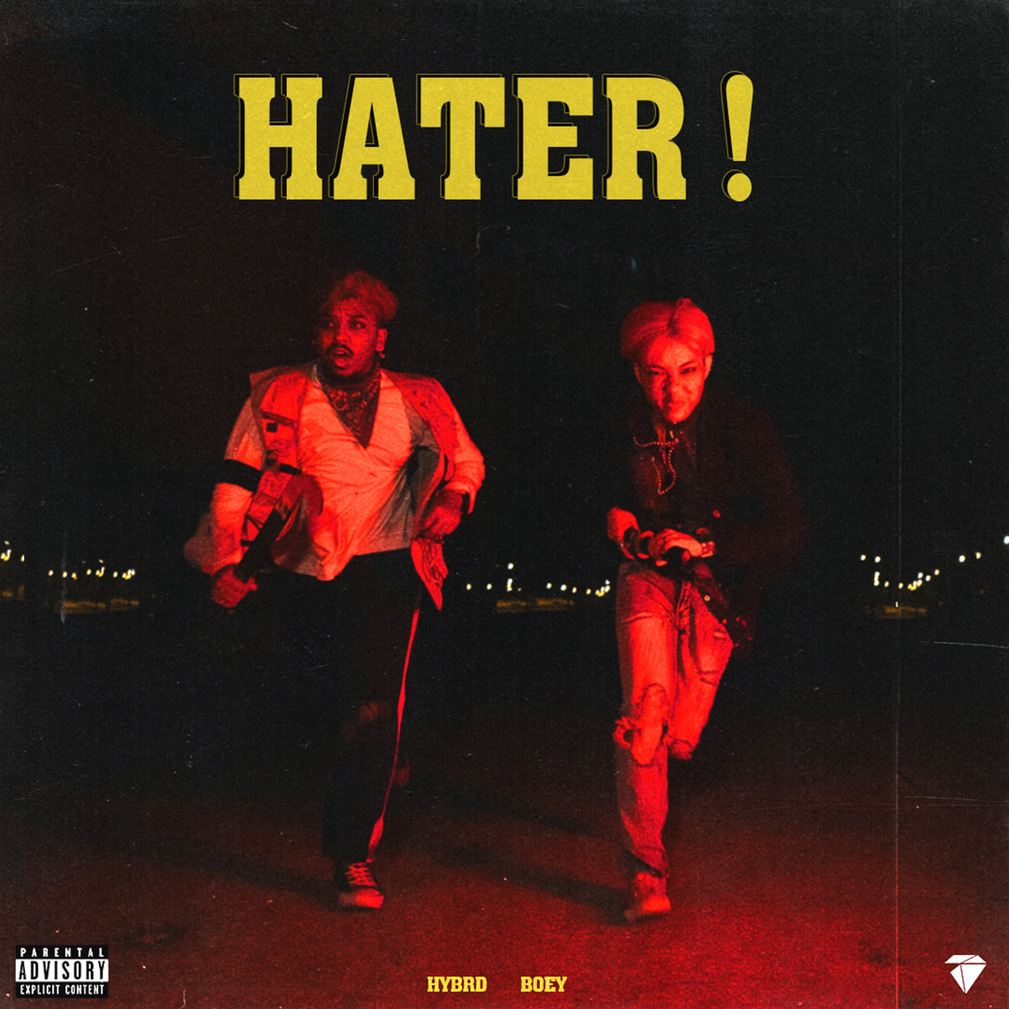 Hater! single   cover art %281440x1440%29