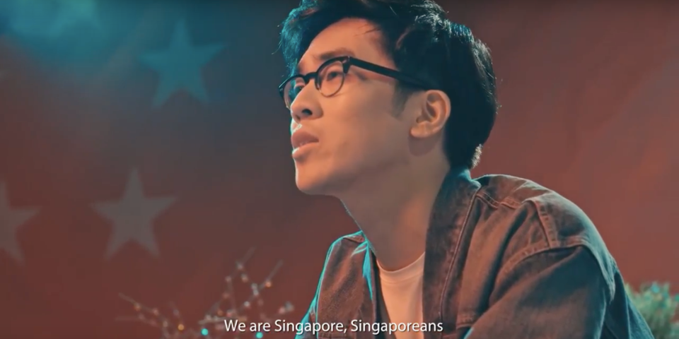 Charlie Lim reworks 'We Are Singapore' for this year's new National Day song