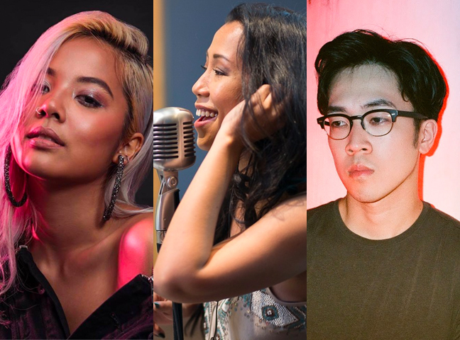 Who are the musicians performing and singing their hearts out at this year's National Day Parade?