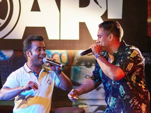 Subhas collaborates with migrant workers on a new National Day song