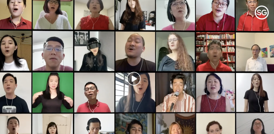 900 Singaporeans come together in virtual choir to perform Dick Lee's 'Home', including Charlie Lim, Jasmine Sokko, Nathan Hartono and Shigga Shay