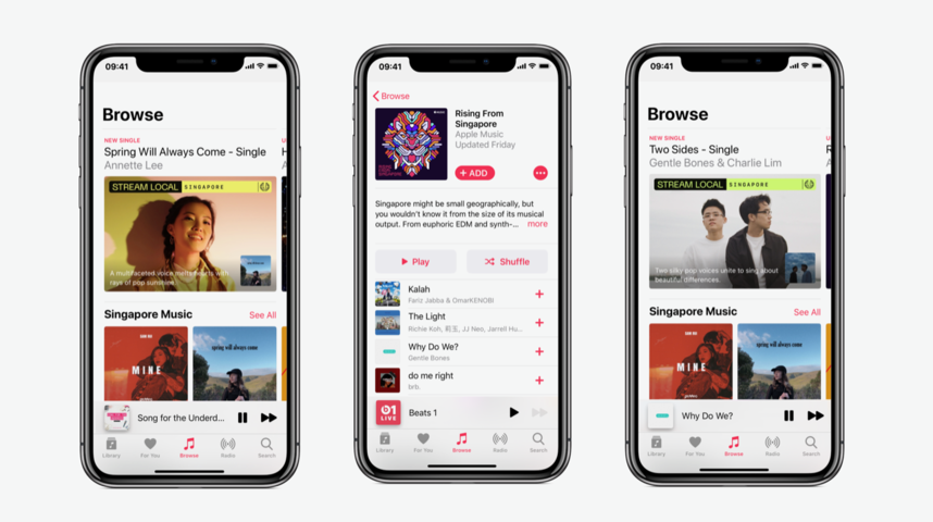 Apple Music announces Singaporean music takeover for the next 48 hours