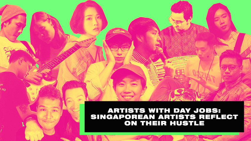 Artists with Day Jobs: Singaporean artists reflect on their hustle