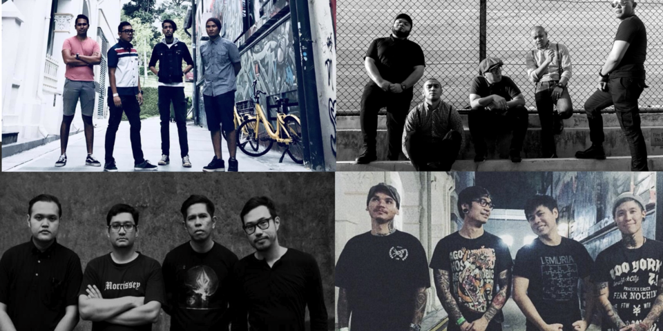 A look into Singapore's Punk scene with a playlist curated by Bob from Take-Off