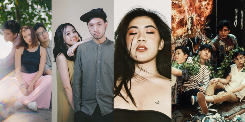 HubbaBubbas, OHMYMEITING & Goose, Sam Rui, and M1LDL1FE will feature in week 2 of Hear65 Sing Along SG